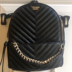 Victoria's Secret Pebbled V-Quilt Backpack